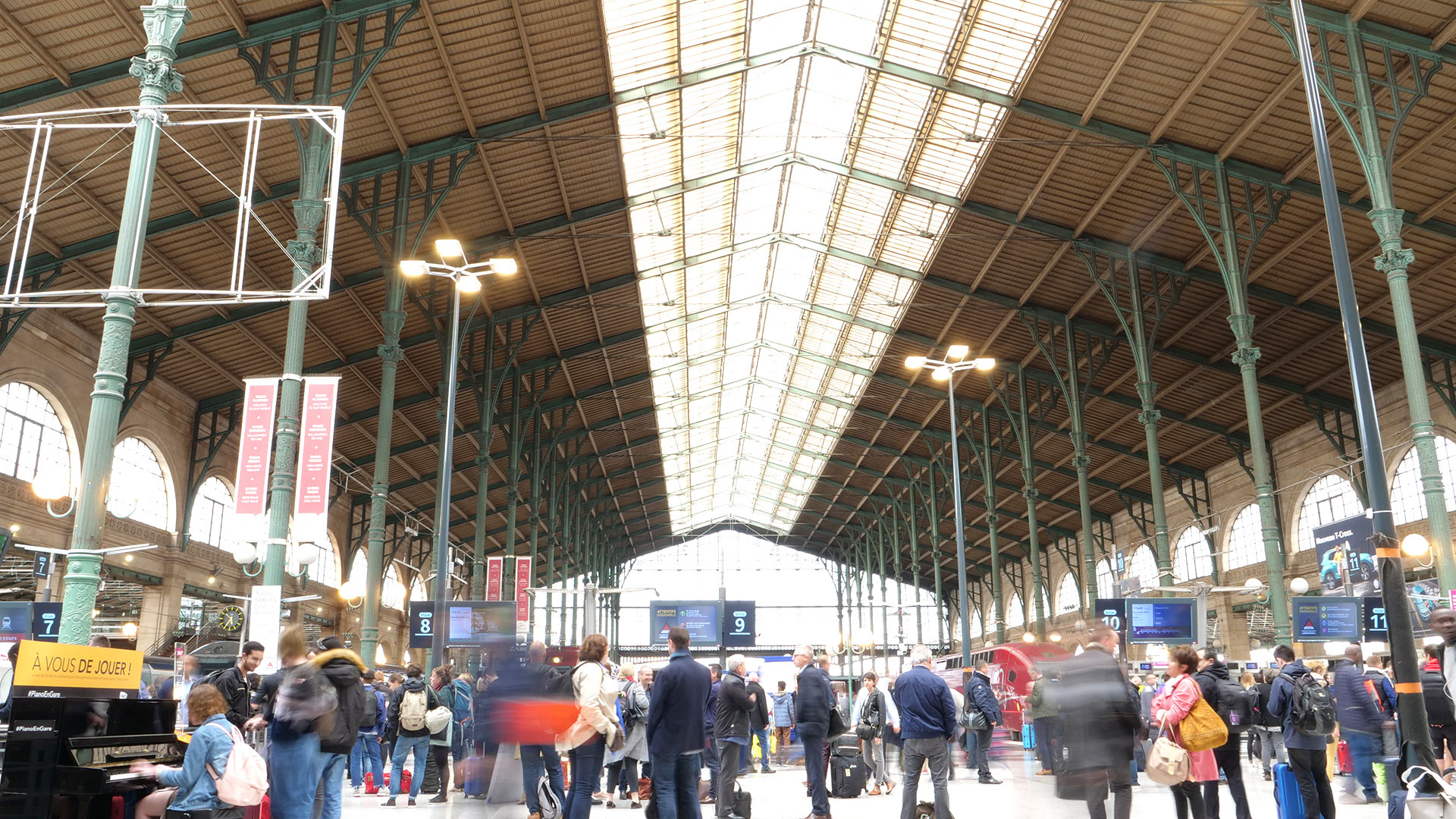 Gare du Nord - Inspection SITES