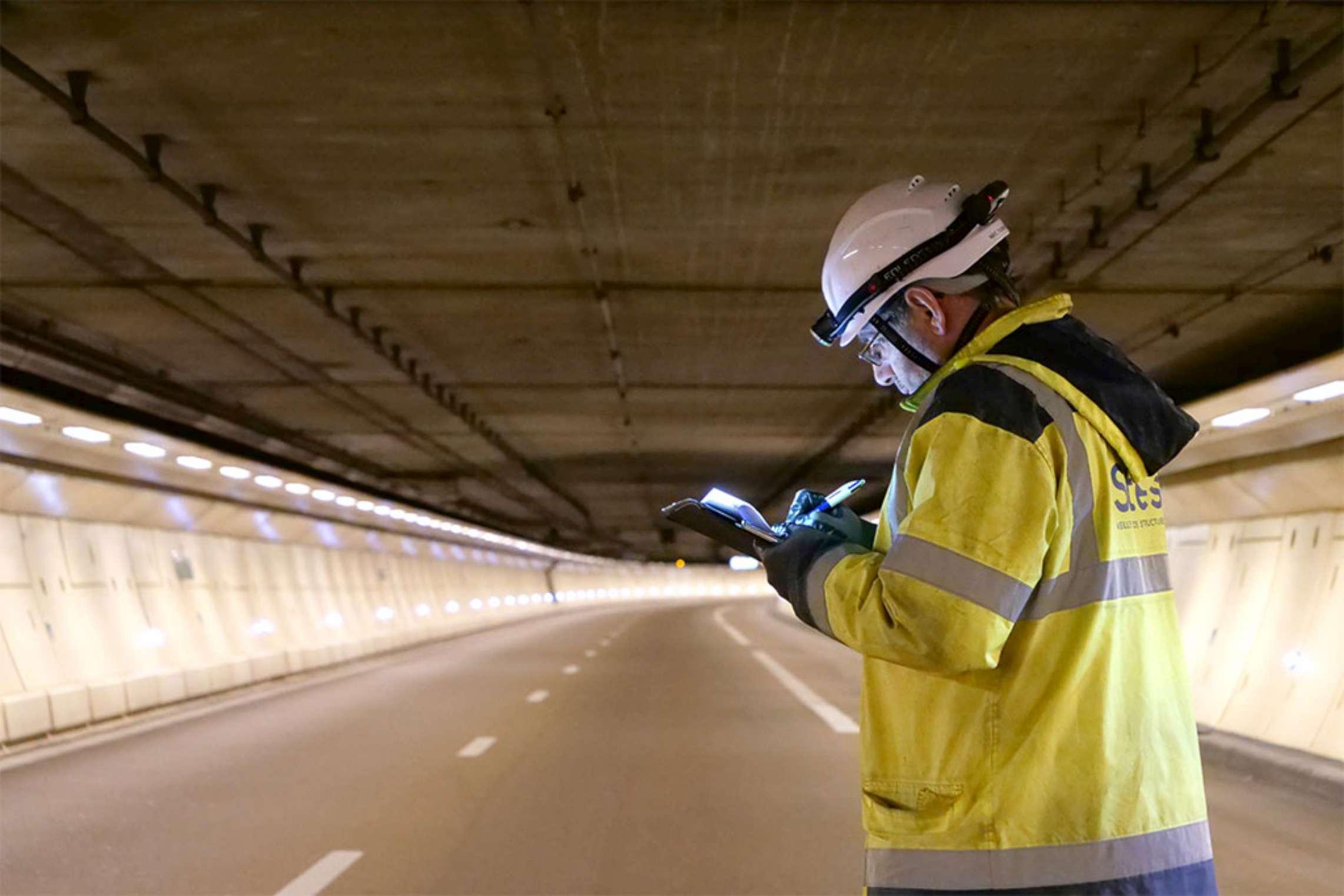 Inspection Périodique Détaillée Tunnel