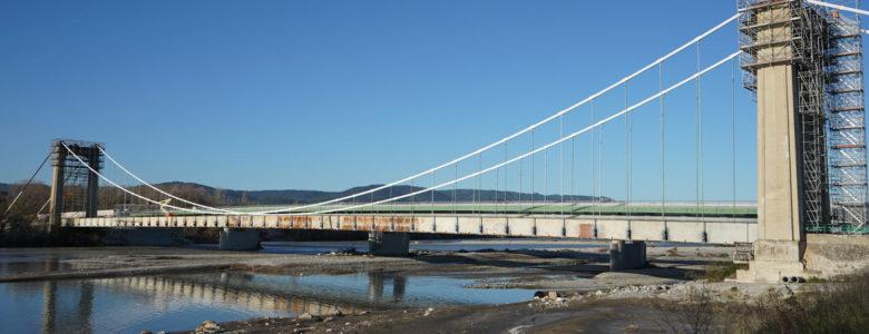 Instrumentation et surveillance d'un pont pendant la déconstruction