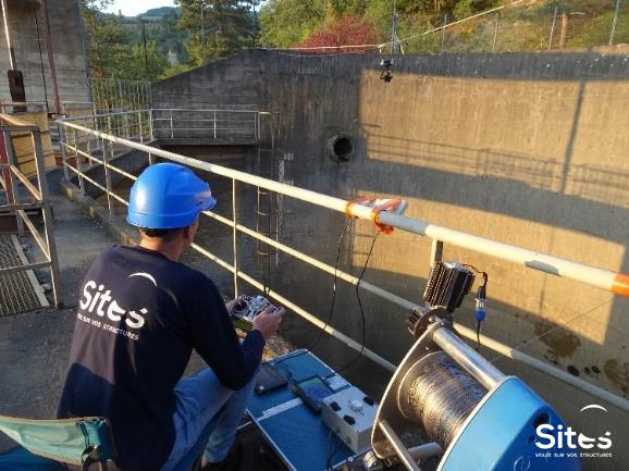 Inspection barrage SITES
