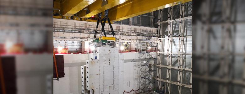 ITER Essai de chargement